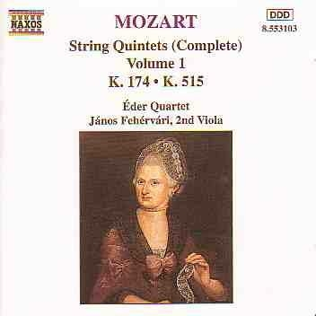 String Quintets K. 174 And K. 515