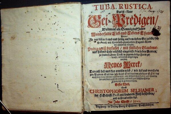 Tuba rustica, das ist: Neue Gei-Predigen,...