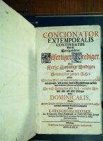 Concionator extemporalis continuatus. Das ist:...