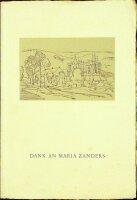 Dank an Maria Zanders. Feier und Ansprachen zur...