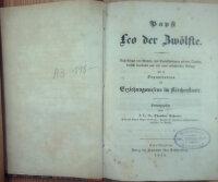 Papst Leo der Zwölfte: nach Artaud von Montor, mit...