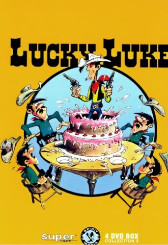Lucky Luke Collection 3 [4 DVDs]